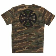 Independent Trucks Concealed Skateboard T Shirt Camo Xxl