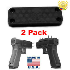 2 x SkullBuster Gun Magnet Concealed Car Pistol Mount Under Desk Firearm Holder