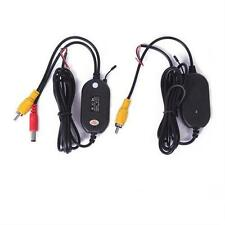 2.4G Wireless RCA Transmitter & Receiver for Car Rear View Camera Caravans Truck
