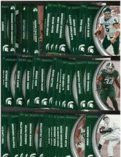 10 ct lot 2016 Panini Michigan State Collegiate Collection Complete 49 Card Sets