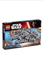 LEGO STAR WARS Millennium Falcon (75105), sigillato Nuovo Di Zecca in Scatola Gratis P&P