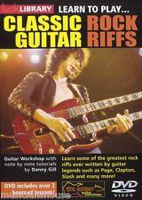 LICK LIBRARY Impara a Suonare rock classico RIFF lezione DIRE STRAITS Chitarra DVD