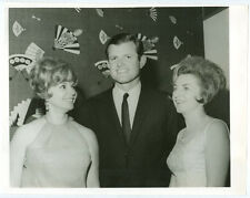 TED KENNEDY original news photo 1960s JFK