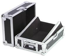 "Roadinger 10"" 8U DJ Mixer Flightcase Pioneer Denon Rane Carry Case"