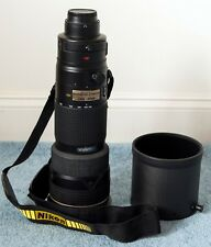 Nikon 200-400mm f4 AF-S VR lens USA Version + extras