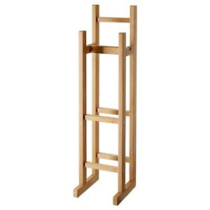 IKEA RÅGRUND 3 x Toilet Paper Roll Stand for Bathroom 100% Bamboo Natural