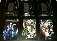 SUICIDE SQUAD HARLEY QUINN   FRIDGE MAGNETS X 3    70MM X 45MM  CANCER RESEARCH