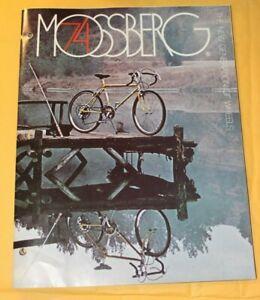 Vintage 1974 Mossberg Bicycle Catalog New Generation Of Wheels Dealers Brochure