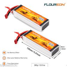 2pcs 14.8V 3300mAh 4S 45C Lipo RC Batterie für RC Auto Flugzeug mit Deans Plug