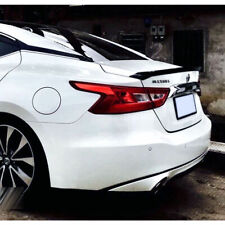 UNPAINTED FOR 2016-2019 NISSAN MAXIMA A36 REAR TRUNK SPOILER 4DR NEW TYPE ABS