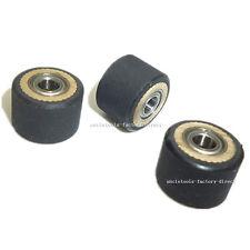 3pcs Pinch Roller Paper Pressing Wheel For Roland Vinyl Plotter Cutter 4x10x14mm