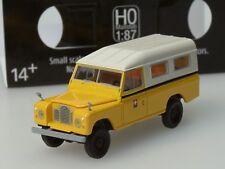 Starmada/ Brekina Land Rover 109 Schweizer Post PTT - 13769 - 1:87