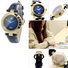 Vivienne Westwood VV092NVNV Navy Dial Leather Strap Ladies Watch