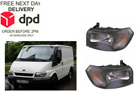 Ford Transit 2000-2006 Front Healdight Headlamp Pair Set Both Right Left