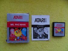 MS. PAC-MAN - atari 2600 VCS - CX2675 cartridge