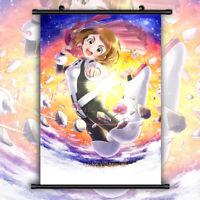 Boku no Hero Academia My Hero Uraraka HD Print Wall Poster Scroll Room Decor