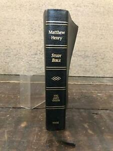 Matthew Henry Study Bible - King James Version - edited by Kenneth Abraham 1997