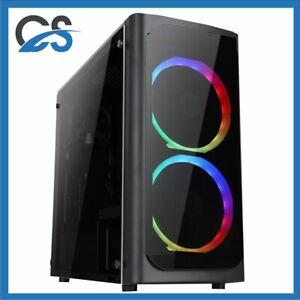 Twin Gaming PC Computer Intel i5 11600K 2TB HDD 480GB SSD 32GB RAM 6GB GTX1660