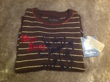 PEPE JEANS STRIPE CREWNECK BOYS JUMPER AGE 9-10 YEARS OLD