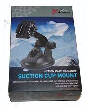 Goji Action Camera Ventosa di montaggio 180 gradi testa rotante compatibile con GoPro