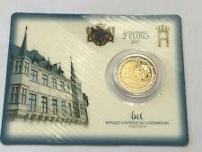 Coffret 1 pièce de 2 euros 2017 Luxembourg 50 Ans abolition service Militaire