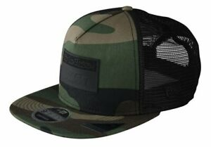 KTM TLD Team Snapback Camo Green Hat