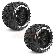 LOUISE MT-UPHILL 1:8 Traxxas Style Bead 3.8 Wheelset 0 Offset RC Car #L-T3219B