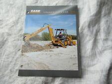 Case 580L loader backhoe brochure