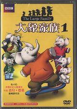 BBC: The large Family Vol 1 TAIWAN DVD REGION 3 ENGLISH SEALED