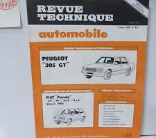 Neuf de stock Revue technique PEUGEOT 305 GT RTA 441 1984 FIAT PANDA 4X4 34 45