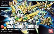 BANDAI SDBF STAR WINNING Gundam MODEL KIT Gundam Build Fighters from Japan