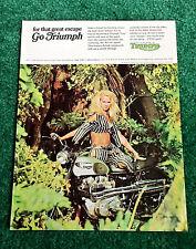 triumph motorcycle collectibles | ebay