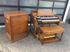 Vintage Hammond B3 Organ & Leslie 122 Speaker Worldwide shipping! Serviced!