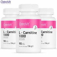 OSTROVIT L-CARNITINE 1000 90 Tablets - Perdita di peso - Pillole dimagranti