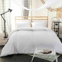 HOTEL QUALITY DUVET DOUBLE SINGLE KING SIZE 4.5, 10.5, 13.5, 15 TOG CHANNEL QUIT