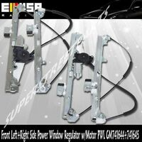 Front Left+Right Side Power Window Regulator w/Motor for 00-06 Silverado1500
