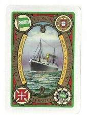 "Swap Playing Cards 1 VINT WIDE"" LEYLAND. LINE "" SHIPPING  ADVT  S109"