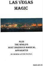 "Book ""LAS VEGAS MAGIC"" (includes ""THE WORLD'S MOST INGENIOUS MAGICAL APPARATUS"")"