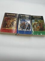 Dragonlance Chronicles Trilogy Vintage TSR Complete Dragons Autumn Winter Spring