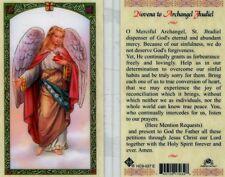 Novena Prayer Card Archangel Jhudiel Dispenser of God's Eternal Abundant Mercy