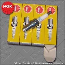 NGK Spark Plug Set BKR 5 equb x 4 stockno. 1567 VAUXHALL OPEL SAAB