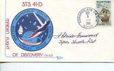 Blaine Hammond Sts Nasa Astronaut Space Rare Signed Autograph Fdc