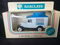 VARIOUS BARCLAYS BANK LLEDO LIMITED EDITION DIE-CAST MODEL VAN COLLECTION
