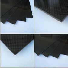 200×300×1mm With 100% Real Carbon Fiber plate/panel/sheet 3K plain weave New ZH