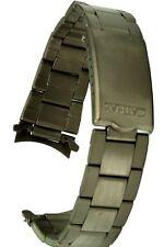 Titan Uhrarmband Rundanschluss - 18 mm Uhrband Ersatzband Titanband