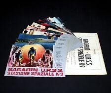 GAGARIN U.R.S.S. STAZIONE SPAZIALE K-9 set 11 fotobuste poster CCCP URSS Sci-fi