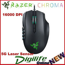 Razer Naga Chroma RGB 16000DPI 5G Laser Sensor Mechanical MMO Wired Gaming Mouse