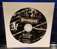 Boondox - The Harvest CD Sampler twiztid insane clown posse axe murder boyz icp