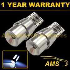 2x W5w T10 501 Canbus Error Free Blanco Led Cree sidelight bombillas Brillante sl104805
