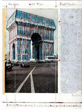 Christo Paris, L'arc de Triomphe Invitaion card 25,5 x 19 cm